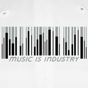 Music is industry Bidon - Czapka z daszkiem