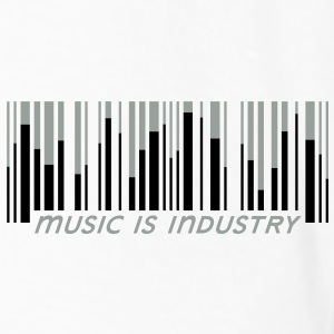 Music is industry Drikkeflaske - Premium langermet T-skjorte for menn