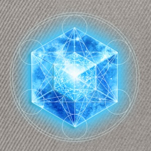Metatrons Cube with TESSERACT, Hypercube 4D, digital, Symbol - Dimensional Shift,  Tee shirts - Casquette snapback