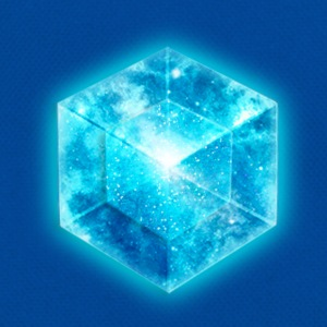 Hypercube 4D - TESSERACT , digital, Symbol - Dimensional Shift, Metatrons Cube,  T-shirt - Borsa retrò