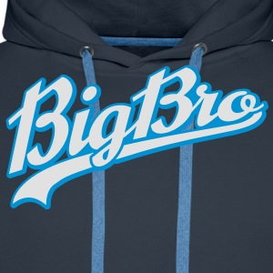 Big Bro | Brother T-Shirts - Mannen Premium hoodie