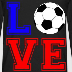 love foot france T-Shirts - Men's Premium Longsleeve Shirt