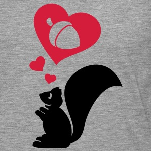 Squirrel dreaming of a big nut. Hoodies & Sweatshirts - Men's Premium Longsleeve Shirt