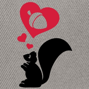 Squirrel dreaming of a big nut. Hoodies & Sweatshirts - Snapback Cap