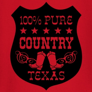 100% pure country texas  Tee shirts - T-shirt manches longues Bébé
