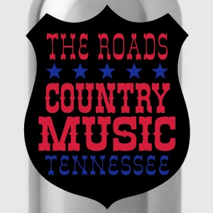 the roads country music tennessee Sweat-shirts - Gourde