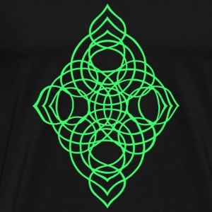 Celtic diamond Bags  - Men's Premium T-Shirt