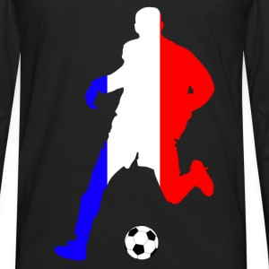 joueur de foot france Shirts - Men's Premium Longsleeve Shirt