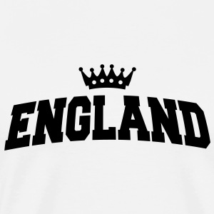 england with crown Baby Bodysuits - Men's Premium T-Shirt