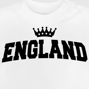 england with crown Kids' Shirts - Baby T-Shirt