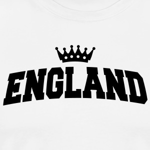 england with crown  Aprons - Men's Premium T-Shirt