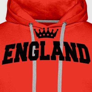 england with crown T-Shirts - Männer Premium Hoodie