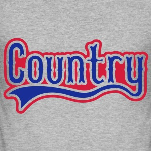 country Sweat-shirts - Tee shirt près du corps Homme