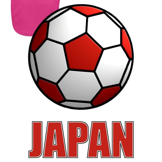 Baby Bio Lätzchen Japan der Fussballnation