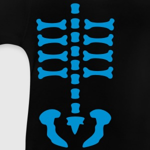 skeleton / rips  / bones / Body / human / c / can be combined with arm bones/ Kids' Shirts - Baby T-Shirt