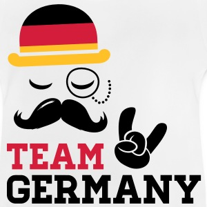Germany team fashionable championship winner gold olympics | football | flag| moustache Kids' Shirts - Baby T-Shirt