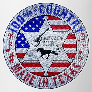 100% country made in texas Sweat-shirts - Tasse