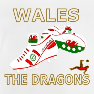 Wales double sided football - Baby T-Shirt