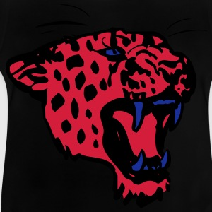 Roaring Leopard by Cheerful Madness!! Kids' Shirts - Baby T-Shirt