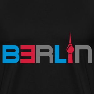 Berlin  Aprons - Men's Premium T-Shirt