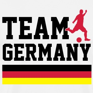 Team Germany Tröjor - Premium-T-shirt herr