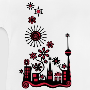 Guerilla Gardening!, c, Auf die Plätze - Saatbombe los! Let's fight the filth with forks and flowers! Barn-T-shirts - Baby-T-shirt