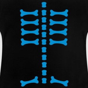 skeleton / rips  / bones / Body / human / SVG / can be combined with arm bones/ Kids' Shirts - Baby T-Shirt