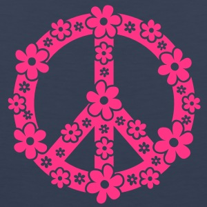 PEACE SYMBOL - simbolo di pace, c, symbol of freedom, flower power, hippie, 68er movement, Woodstock Felpe - Canotta premium da uomo