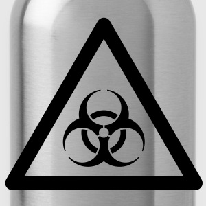Hazard Symbol - Biohazard Hoodies & Sweatshirts - Water Bottle