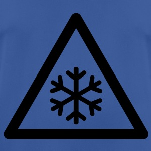 Hazard Symbol - Low Temperatures Hoodies & Sweatshirts - Men's Breathable T-Shirt
