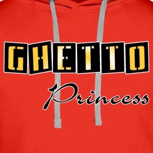 ghetto princess gold Barneskjorter - Premium hettegenser for menn