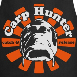 Black Carp Hunter  T-Shirts - Cooking Apron