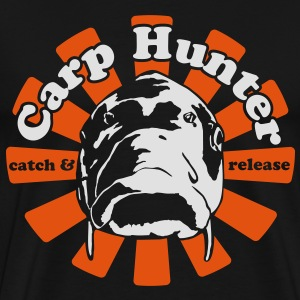 Carp Hunter catch and release - Männer Premium T-Shirt