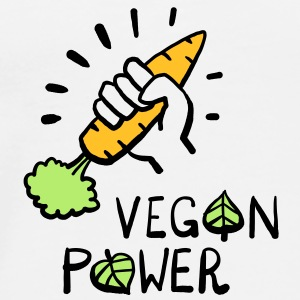 Vegan Power Bags  - Men's Premium T-Shirt