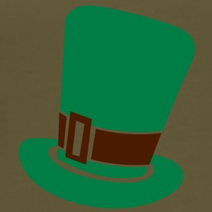 Irish leprechaun top hat St Patrick's day design Bags  - Men's Premium T-Shirt
