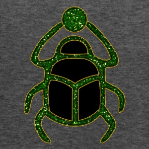 Scarab Amulet for Strength & Courage / Protection Amulet, green / Tröjor - Tanktopp dam från Bella