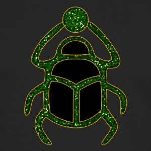 scarabeo - Scarab Amulet for Strength & Courage / Protection Amulet, green / Felpe - Maglietta Premium a manica lunga da uomo