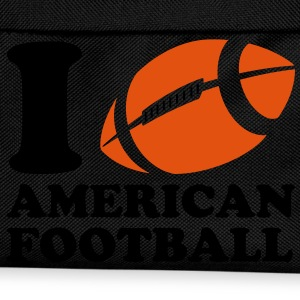 I Love American Football T-skjorter - Ryggsekk for barn