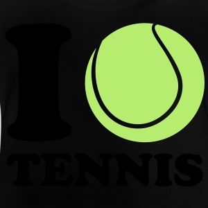 I Love Tennis Kinder shirts - Baby T-shirt
