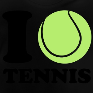 I Love Tennis Kinder Pullover & Hoodies - Baby T-Shirt
