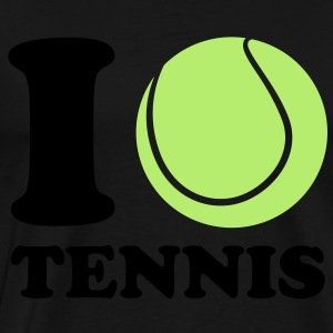 I Love Tennis Kids' Tops - Men's Premium T-Shirt
