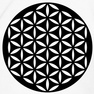 Flower of Life / punched | Trinkflasche - Männer Premium T-Shirt