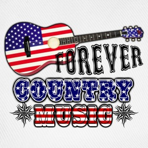 forever_country_music_guitar_flag_usa Sweat-shirts - Casquette classique