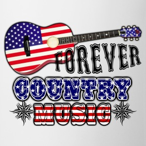 forever_country_music_guitar_flag_usa Sweat-shirts - Tasse