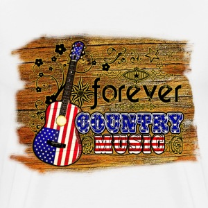 forever country music Tee shirts manches longues - T-shirt Premium Homme