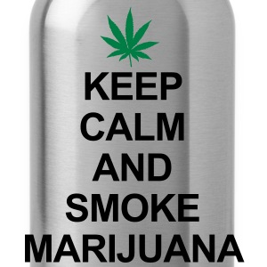 Keep Calm And Smoke Marijuana Felpe - Borraccia