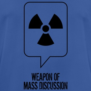 Weapon of Mass Discussion Hoodies & Sweatshirts - Men's Breathable T-Shirt