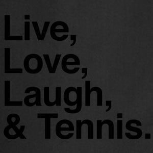 live love laugh and tennis Sweaters - Keukenschort