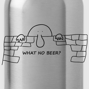 What no Beer? - Water Bottle