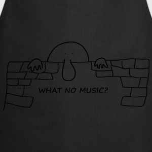 What no Music - Cooking Apron